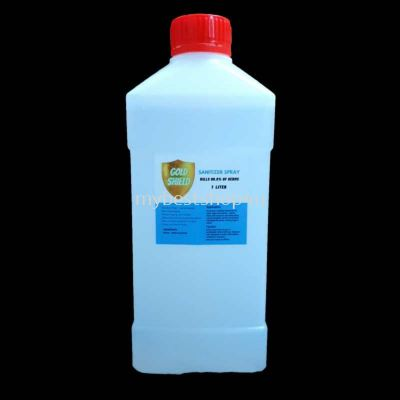 Sanitizer alcohol free 1 liter