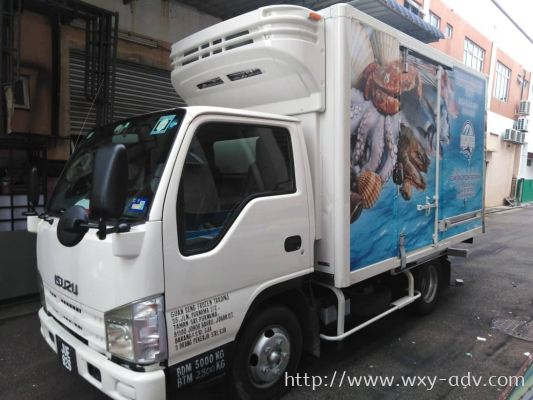 GUAN SENG FROZEN FOOD TRADING Lorry sticker