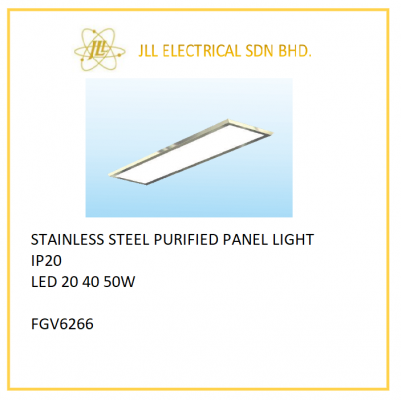 OFFSHORE LED PANEL LIGHT 20/40/50W. FGV6266 STAINLESS STEEL PURIFIED PANEL LIGHT