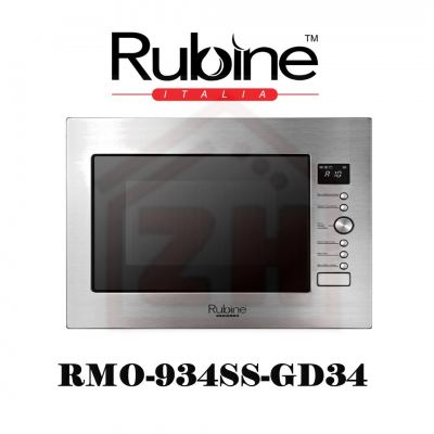 RUBINE Built In Microwave Oven RMO-934SS-GD34