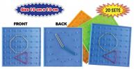 Double Sided Student Geoboard Accessories Mathematics Education