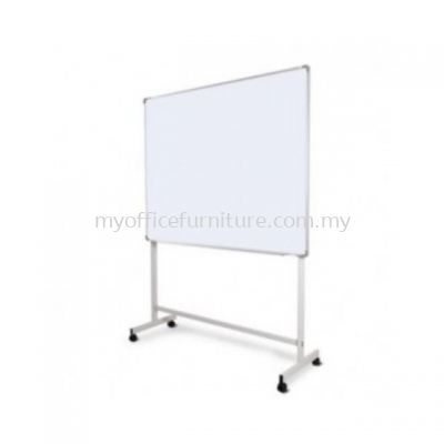 MAGNETIC WHITEBOARD WITH MOBILE STAND (RM 215.00/UNIT)