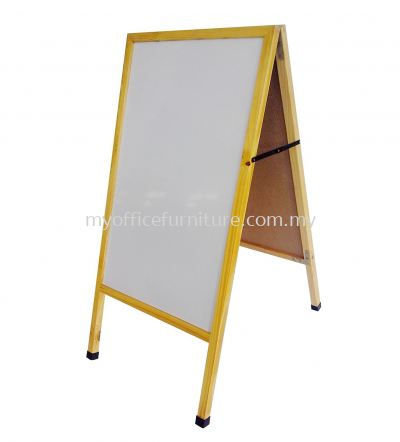 3'H x 2'L DOUBLE SIDED MENU BOARD ~MAGNETIC WHITEBOARD (RM 194.00/UNIT)