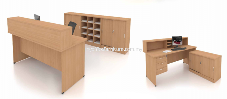 MY-FO RECEPTION 4' COUNTER (RM 262.00/SET)