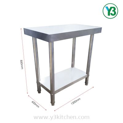 2 Tier Stainless Steel Working Table