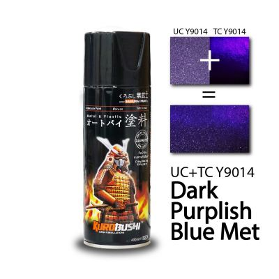 YAMAHA - DARK PURPLISH BLUE MET