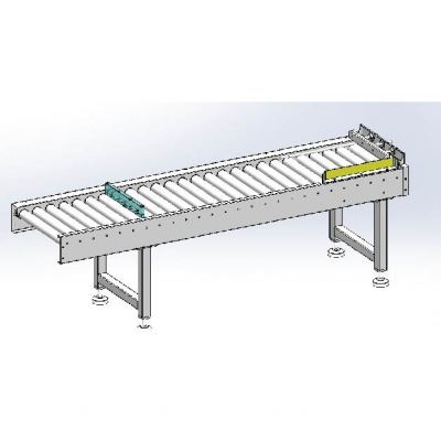 Smaill Praduct Inlet Conveyor