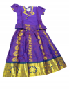 READY MADE PADDU PAVADAI SADDE WITH SILK LONG SKIRT & BLOUSE FOR SMALL KIDS /GIRLS Dresses
