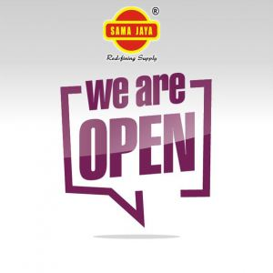 We Are Open During This CMCO