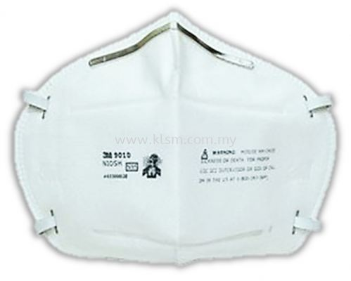 3M 9010 N95 PARTICULATE DISPOSABLE RESPIRATORS