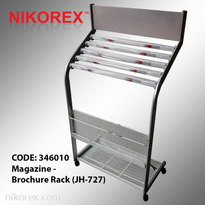 346010 Magazine - Brochure Rack (JH-727)