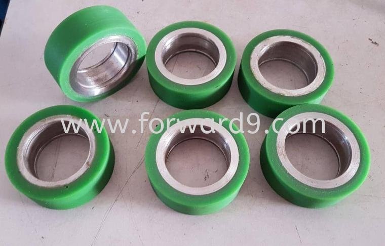 PU Guide Roller  Polyurethane ( PU )  Polymer ( PU / Rubber etc )