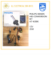 PHILIPS XENON HID CONVERSION KIT H7 4200K 12V 35W PHILIPS HID PHILIPS LIGHTING