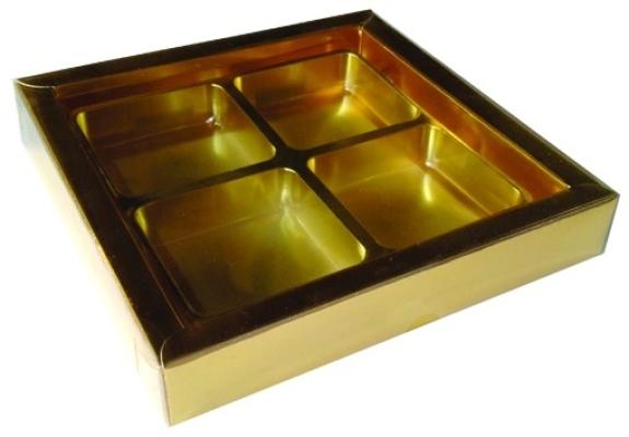 Z15 - 4 Cavities Oreo Gold Tray