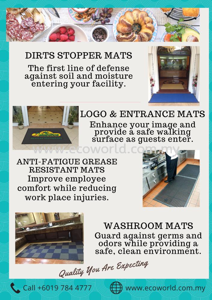 Restaurant Floor Mat Guides