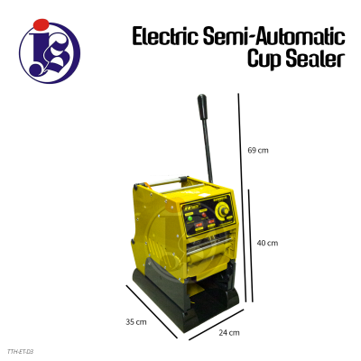 Electric Semi-Automatic Cup Sealer