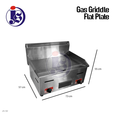Gas Griddle Flat Plate
