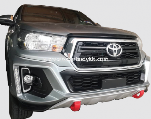 TOYOTA HILUX REVO ROCCO 2018 RSR FRONT SKIRT