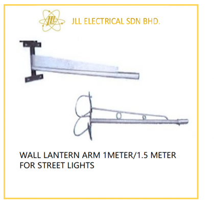 WALL/LAMP POLE ARM FOR STREET LIGHTS 1METER/1.5 METER