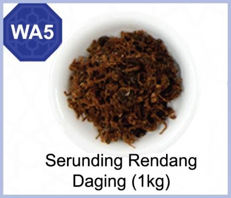Serunding Rendang Daging (1kg)