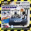 ARTIX OL0160022 OIL FREE AIR COMPRESSOR  0.8HP 600w 30LITER 8 Bar 100% Copper Wired Motor ARTIX Air Compressor