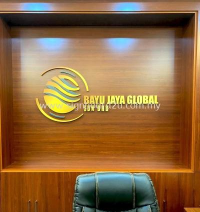 BAYUJAYA GLOBA SDN BHD PVC BOARD CUTTING LETTERING SIGNAGE AT KLANG,SELANGOR
