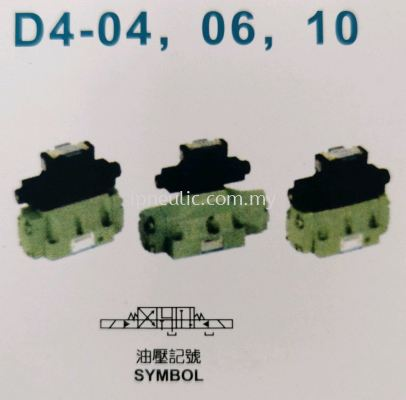ELECTRIC CONTROL HYDRAULIC OPERATED DIRECTIONAL CONTROL VALVES