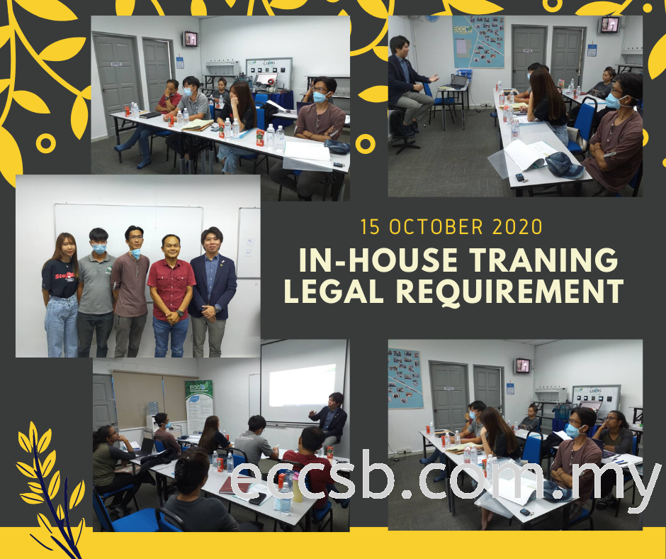In-house Training Program on Legal Requirement