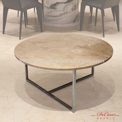 Nuvalato (non-coat) | Round Marble Coffee Table | Cash & Carry | RM699