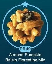PR49 Almond Raisin Florentine Mix