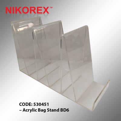 530451 �C Acrylic Bag Stand BD6