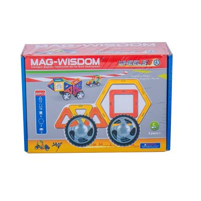 Mag-Wisdom Magnetic Educational Toys 40 PCS Puzzle Game ����������Ϸ
