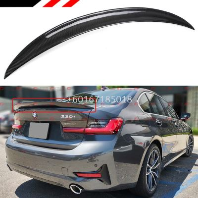 bmw 3 series g20 spoiler mp style add on upgrade performance look carbon fiber material brand new set