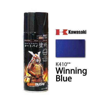 K410** WINNING BLUE