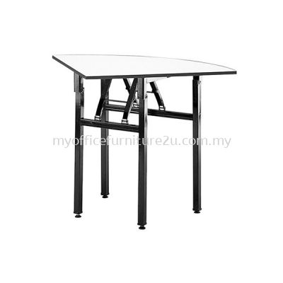 BQQ600 Foldable Quarter Table 600W x 600D x 760H mm