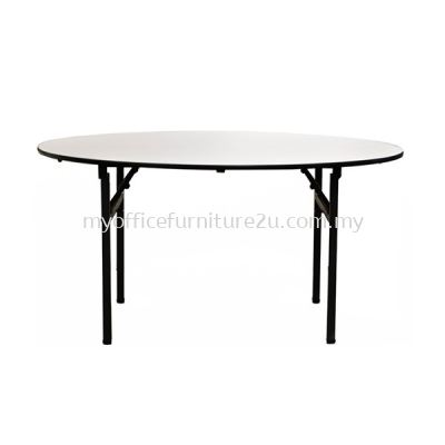 VFO40N Foldable Round Table 1200 x 1200DIA x 760H mm