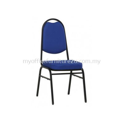 BQC963 Banquet Chair Epoxy Black Leg (Fabric)
