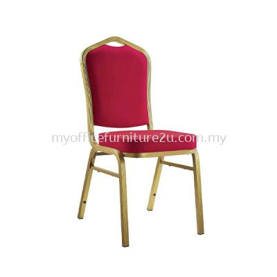BQC964 Banquet Chair Gold Leg (Fabric)