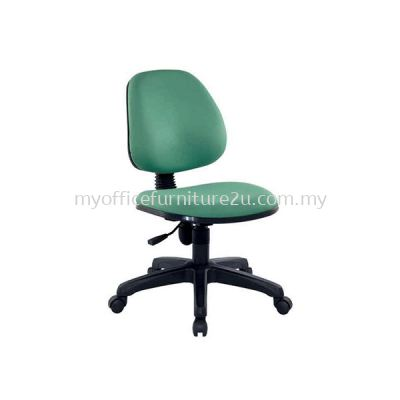 SIFT921 Adjustable Typist Chair without Armrest Fabric