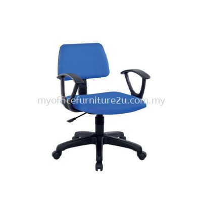 SIFT911A Adjustable Typist Chair with Armrest Fabric