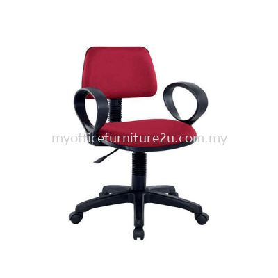 SIFT901A Adjustable Typist Chair with Armrest Fabric