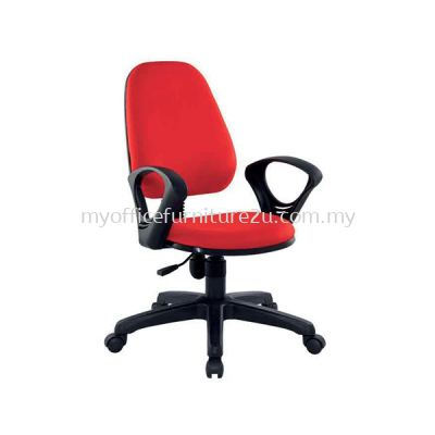 SIFT922A Adjustable Typist Chair with Armrest Fabric
