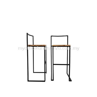 ISBAR966 High Bar Stool Epoxy Leg (Wooden)