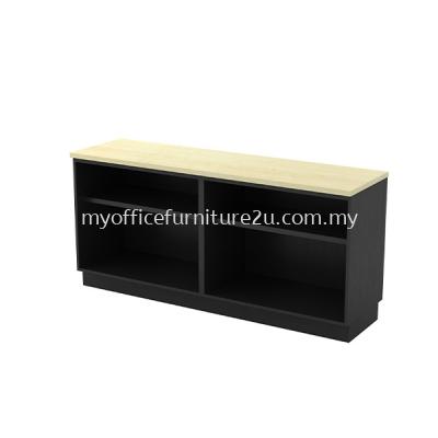 TYOO7160 Dual Open Shelf Low Cabinet