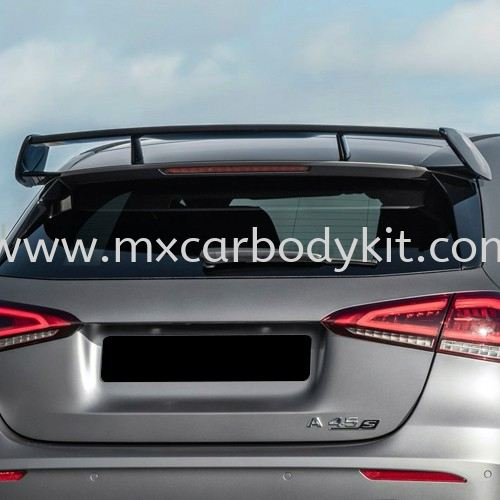 MERCEDES BENZ A CLASS W177 A45 STYLE ROOF SPOILER W177 ( A CLASS) MERCEDES BENZ