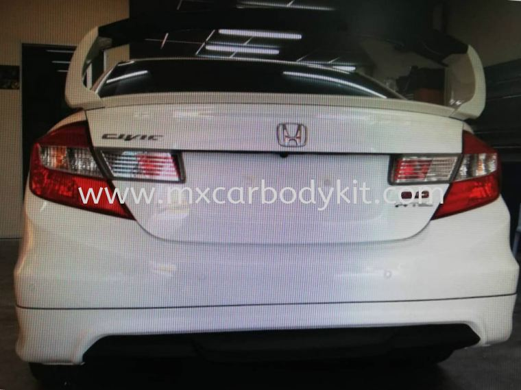 HONDA CIVIC FB 2012 MUGEN RR SPOILER CIVIC FB 2012 - 2015 HONDA