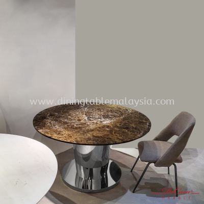 Dark Emparador | Spain | 6 seaters | Dining Table only RM3,999