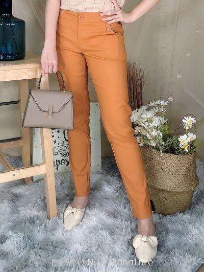 76451 Basic Pocket Detail Long Pant