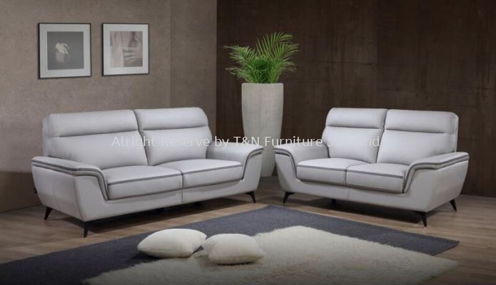 3092 Bessie H-Leather (3+2) Sofa Set
