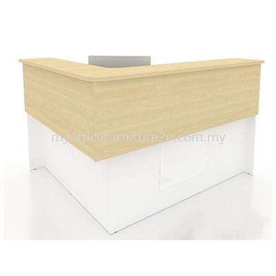 PAN18 Reception Counter (White + Maple)